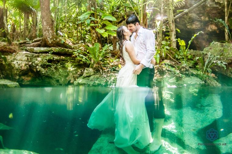 weddingtrashthedresscenote